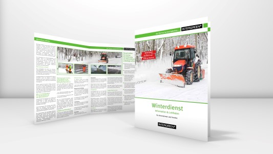 INTERGREEN BASIS WEB Folder Anleitung Winterdienst